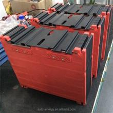 high capacity 12v 100AH LiFePO4 li-ion battery pack flat battery pack