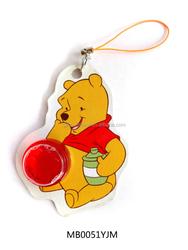 high quality wholesale new hanging cute bear rose car membrane air freshener 5ml