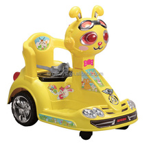 kids cartoon car children electronic Motorcycle three wheels baby toy car ride on car