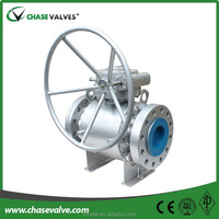 Forged steel floating 6 inch float ball valve ball