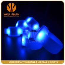 800M radio controller remoted control led bracelet with multicolor for roar concert sleepover