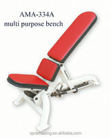 AMA-334A Multi-position Bench/Abjustable Deluxe Dumbbell Chair