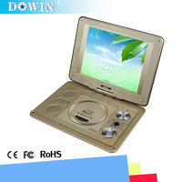 manufacture wholesale guality cheap 2015 10.1inch Portable DVD WITH USB Connection SD Port VGA Interface EVD Portable DVD Player