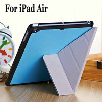 Personalized PU leather waterproof design for Ipad case and cover for Ipad air 5