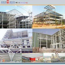 Low-cost prefabricated steel structure building
