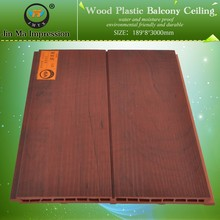 High Quality Wood Plastic Composite WPC Decorative Roofing