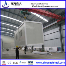 Promotion Price!!! sandwich panel prefabricated 40 feet container house manufacturer