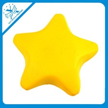 Hot selling eco-friendly logo customized star anti-stress reliever ball