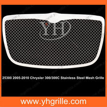 matching with 2005-2010 Chrysler 300 /2005-2010 Chrysler 300C Main Upper Wire Mesh car Grille