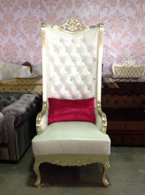 Indonesia Furniture RED high gloss gold Chair, beautifull !!!