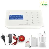 Digital gsm security wireless smart security alarm system