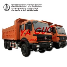BEIBEN NG80 30T 10 WHEEL USED TIPPER TRUCK