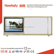 matte whiteboard of ceramic magnetic surface for teaching