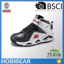 HOBIBEAR fashion durable boys brand basketball shoe boots child sport shoe 33-40