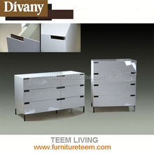 SM-W07 high quality cabinet white wooden furniture