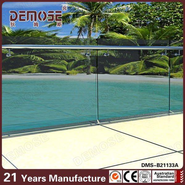 Barandas de vidrio sin marco balcón moderno barandillas y ...