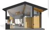 Econova Prefabricated Granny Flat with New Energy for Canada