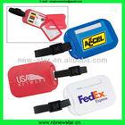 baratos bagagem de plástico com conjunto de costura para uso da promoção nlt012