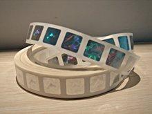 Top sale custom made 3d security hologram, 3d roll laser hologram sticker
