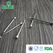 Alibaba wholesale steel material silver color vaporizer dry herb e cigarette dab tools in stock
