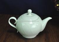 Tea set& Coffee Set, Plain white porcelain teapot Elegant, Unique Teapot Ceramic, Porcelain Coffee Pot 800ml