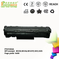 Toner Cartridge for HP CF283a/CF283x Toner FOR USE IN HP Laserjet M125/M126/M127F/201/225 (PTCF283A)