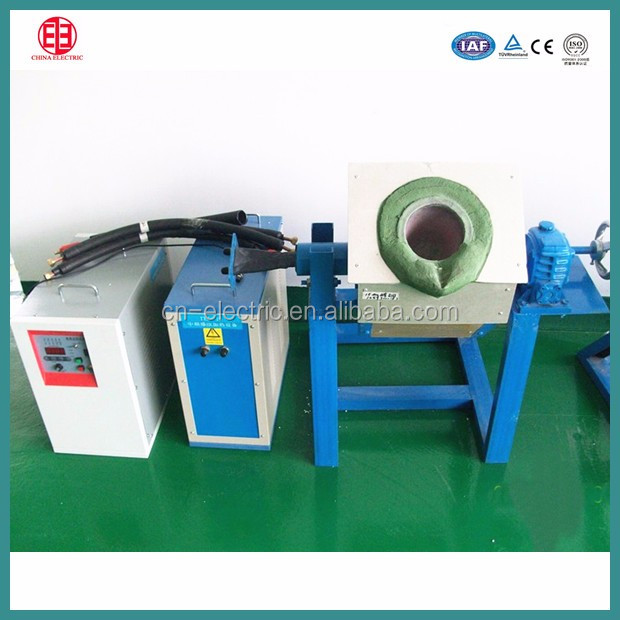 50KG IGBT type and iron or steel smelting furnace4
