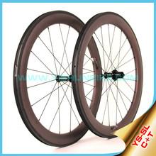 2015 YISHUNBIKE carbon road bike wheel 700c 60mm clincher chinese bicycle wheelset carbon titanium 11 speed cycling SL60C(C+T)
