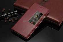 for huawei p8 lite case, Litchi Design With Credit Card Sltos Flip leather case for Huawei P8 Lite