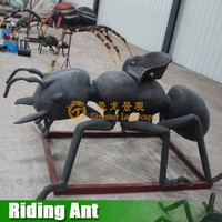 Electrical Amusement Park Animal Ride Riding Ants