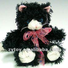 Cute Plush Toys Black Cat OEM