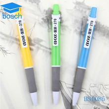 Promotional plastic ball pens can printing logo one the clip