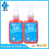 Motin oil resisant thixtropic viscosity Anaerobic Thread Lockers Liquid/blue glue 243