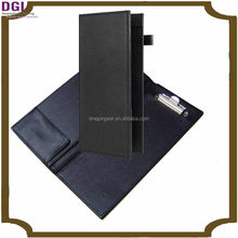 New design top quality check presenter / genuine leather checkbook holders