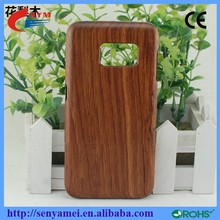 2015 High Quality Wood Case For Samsung Galaxy S6 Edge Mobile Phone