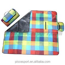 Folding picnic blanket foldable camping mat
