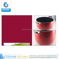 Permanent two-layer nano non stick coating paints for cookware set
