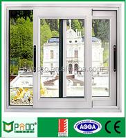 cheap house windows for sale australia glass door thermal break aluminium sliding window PNOC0050SLW