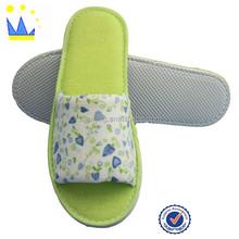 Print flower cute girl home slipper