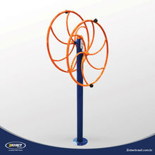 Rotación Vertical Doble para parques fitness exteriores