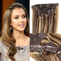 Kinky Curly Clip In Hair Extensions, Wet And Wavy Clip In Hair Extensions, Clip In Hair Extensions for African American