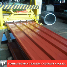 Hot rolled corrugated steel roof corrugated steel title for wall