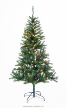Popular Christmas Day Decoration with LED light, artificial Christmas Tree