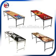 Copo vermelho Pong portátil Beer Pong beirute mesa de jogo - 8 metros de comprimento com personalizado abridor de garrafas
