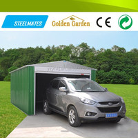 large size Electric roller door mobile used carports for sale