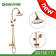 New Design Golden Luxury Bath Shower Mixer Faucet