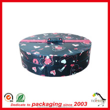 Special tall round box round gift packaging cardboard box