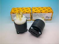 Super three hole 15A 125V American power audio plug connetor&NEMA L5-15P 2P3W locking plug