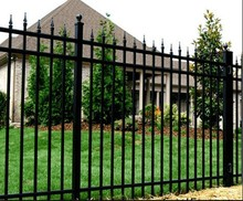 high quality aluminium fence / ameristar fence products with modern style