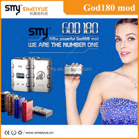2014 Christmas best Gift GOD's favourite vapor!!! SMY brand new box mod 180w maximum power god180 newest variable watt mod huge